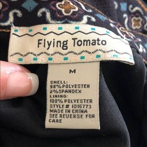 flying tomato dress